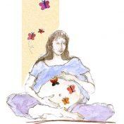 לוגו מרכז פרפרים בבטן
